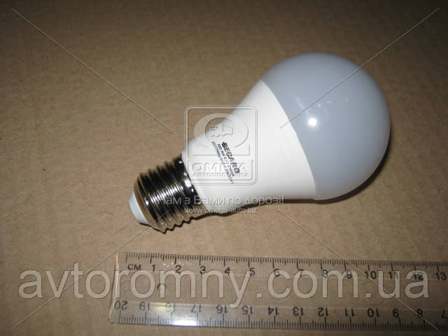 Лампа светодиодная A60 8W 4100k 600lm E27 220V DECARO 49051007932
