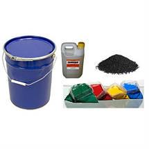 Матеріали для монтажу і виробництва гумових підлог