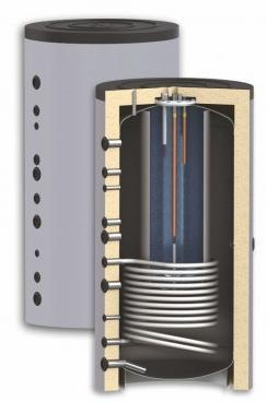Бак комбинированный KSC1 600/150л Sunsystem Болгария