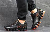 Мужские кроссовки Under Armour черние с помаранчем (Реплика ААА+)