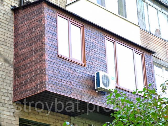 обшитий балкон