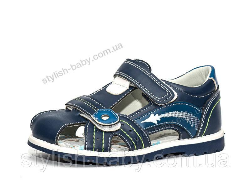 Детская летняя обувь оптом. Детские босоножки бренда Y.TOP для мальчиков (рр. с 26 по 31)