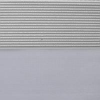 Рулонные шторы День-Ночь Ткань Диамант NZ-7310 Белый