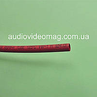 Термоусадочная трубка (2:1) - 4.0/2.0 мм, 1 метр, красная