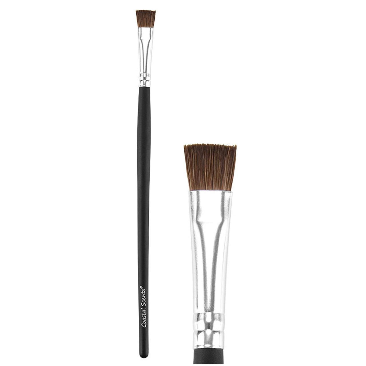 Кисть для теней Coastal Scents Classic Flat Liner Brush Natural