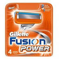 Gillette Fusion Power - Сменные кассеты для бритья 4 шт (В уп) (Original), фото 1