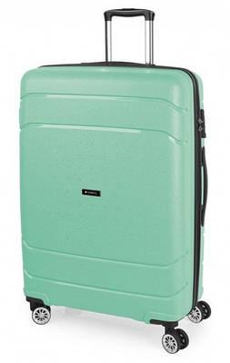 Чемодан большой Gabol Shibuya 924899 пластик зеленый 95 л, 4 колеса