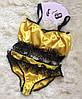 """Атласный женский комплект белья """"Likon"""" с кружевом (5 цветов), фото 2"""