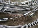 Прут-держатель стальной оцинкованный чистки дымохода 6м-8м-10м-12м