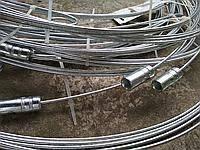 Прут-держатель стальной оцинкованный чистки дымохода от 3м- 6м-8м-10м-12м
