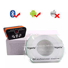 Діагностичний автосканер Vgate iCar2 ELM 327 OBD2 V2.1 Bluetooth для Android Orange, фото 2