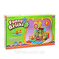 Дитячий розвиваючий конструктор Funny Bricks (81 дит.), фото 1