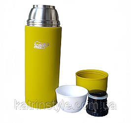"""Термос """"Tramp Lite """" 1,2  L с резиновым напылением ( вес 610 г)"""
