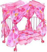 Кровать для кукол Melogo 9350E 5 цветов