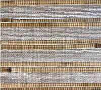 """Рулонные обои из дерева """"Серые"""" (натуральный бамбук,джут), фото 1"""