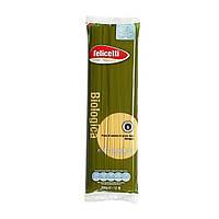 Органические спагетти из цельнозерновой муки, Felicetti, 500 г