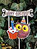 Топпер Happy Birthday, в технике декупаж, 1 годик