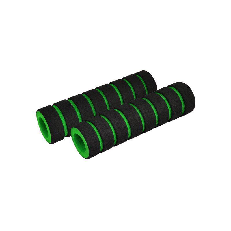 Ручки керма Longus FUOMY чорний/зелений