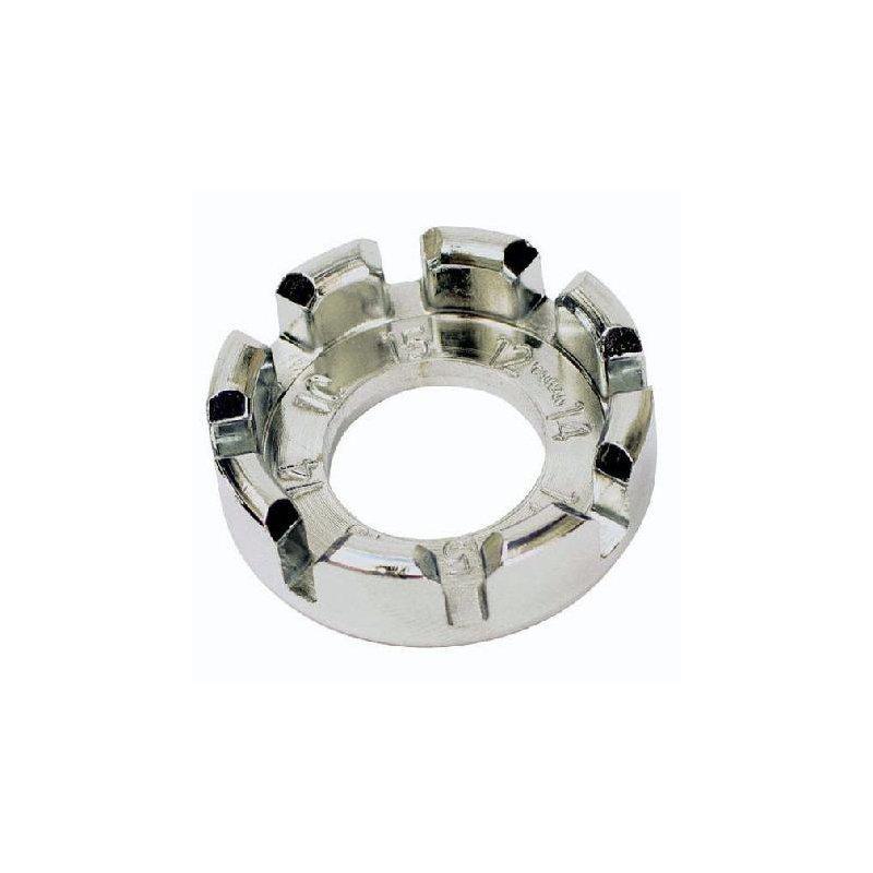 Ключ спицний, Fe, срібний, універсальн