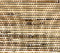 """Рулонные обои из дерева """"Паленный"""" (натуральный бамбук,джут)"""