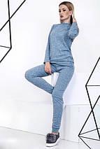 """Ангоровый женский спортивный костюм """"MAILO"""" с вырезом на плече (4 цвета), фото 2"""