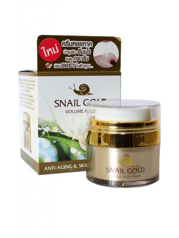 Поживний і зміцнюючий крем 7 в 1 з равликом Snail Gold Volume Filler, 15 г