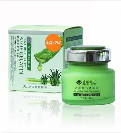Интенсивный ночной крем с экстрактом Aloe Elastic Moisturizing Rejuvenation Sleeping Cream, 50 г