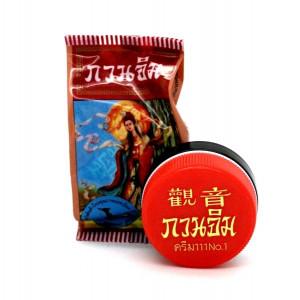 Відбілюючий перловий крем для обличчя Куан Їм Kuan Im Pearl, 3 м