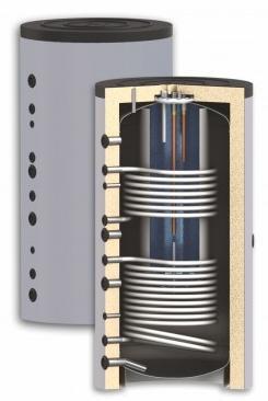 Бак комбинированный KSC2 600/150л Sunsystem Болгария