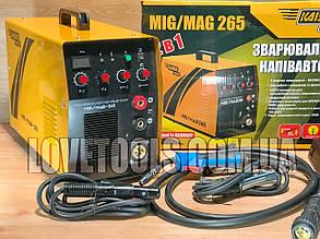 Сварочный полуавтомат инверторный 2в1 Kaiser MIG-265