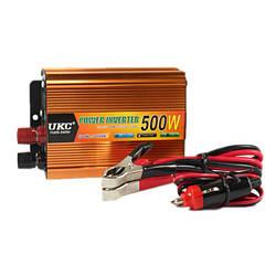 Авто преобразователь напряжения AC/DC -UKC SSK 500W 12V - 24V