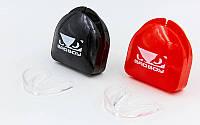 Прозрачная капа односторонняя (одночелюстная) в футляре BAD BOY BO-7036