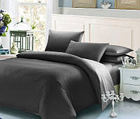 Серый комплект постельного белья 145х210 BOSTON Jefferson Sateen