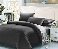 Серый комплект постельного белья 200х220 BOSTON Jefferson Sateen