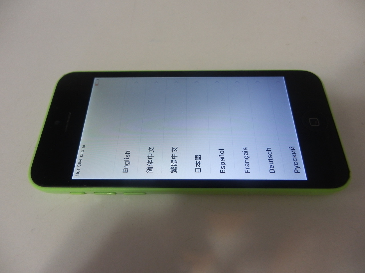 Мобильный телефон Iphone 5c №4241