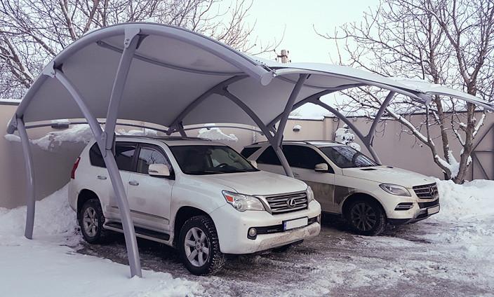 Автомобильный шатровый навес