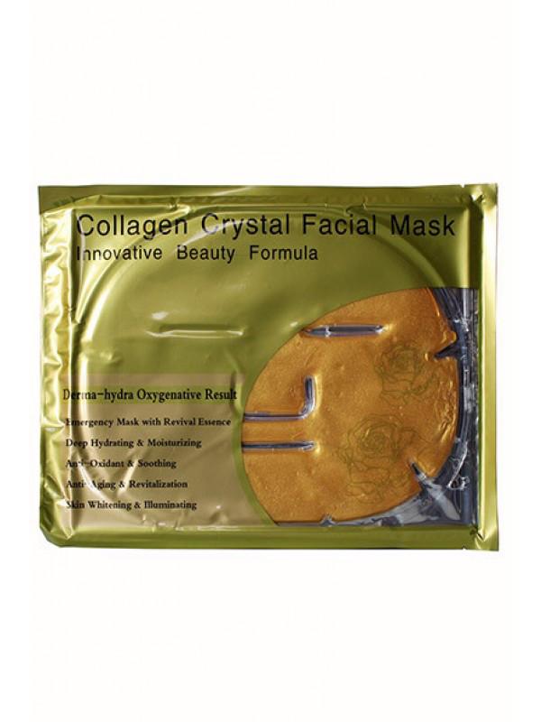 Маска для обличчя з колагеном і биозолотом 24K Active Gold Collagen face Mask
