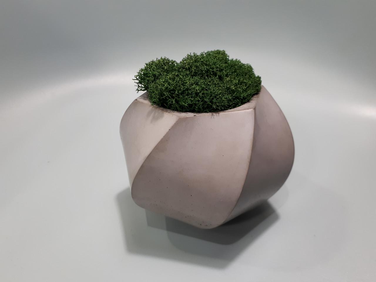 Кашпо  для цветов из бетона Д-95 мм