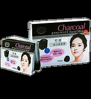 Тканевая маска для жирной и проблемной кожи Charcoal Facial Mask