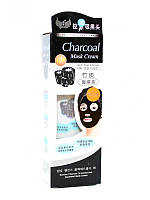 Чёрная маска-плёнка для чистки пор Charcoal Mask Cream Anti-Blackhead, 130 г
