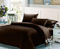 Коричневый комплект постельного белья 200х220 BOSTON Jefferson Sateen