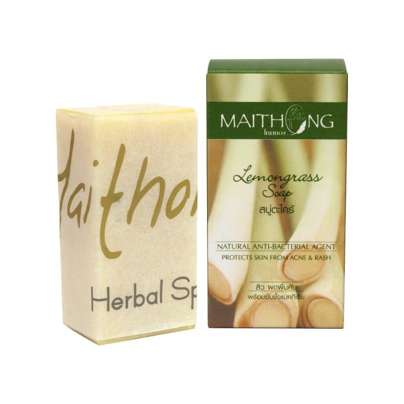 Натуральное мыло с экстрактом лемонграсса Lemongrass Soap, 100 г