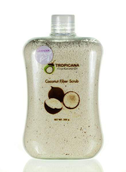 Сухой скраб Tropicana из мякоти кокоса и эфирного масла лаванды, 250 г