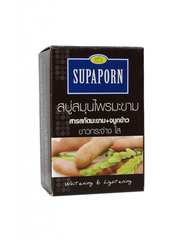 Мыло от пигментации с тамариндом Supaporn Tamarind Herbal Soap, 100 г