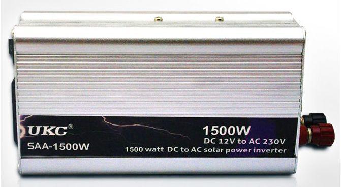 Преобразователь UKC SAA-1500W  AC/DC 12/220V инвертор