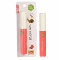 Блеск для губ малиновый с улиточной слизью Baby Bright Lip Snail Gloss, 10 г