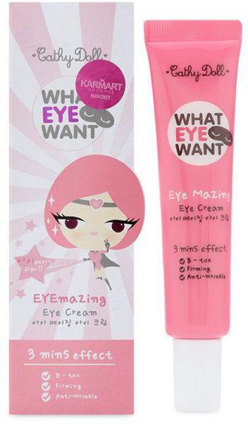 Крем под глаза с эффектом ботокса What Eye Want eye cream, 15 г