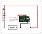 Амперметр постоянного тока до 10А DC с шунтом цифровой встраиваемый A85DC Красный, фото 4