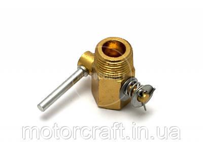 Сливной кран головки цилиндров мотоблока DCH-R190/195