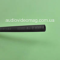 Термоусадочная трубка (2:1) - 6.0/3.0 мм, 1 метр, черная
